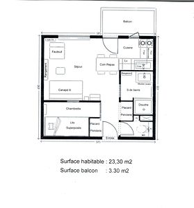 Oxygène Immobilier AIGU0120 Plan