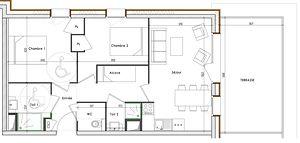 Oxygène Immobilier LODG601B Plan